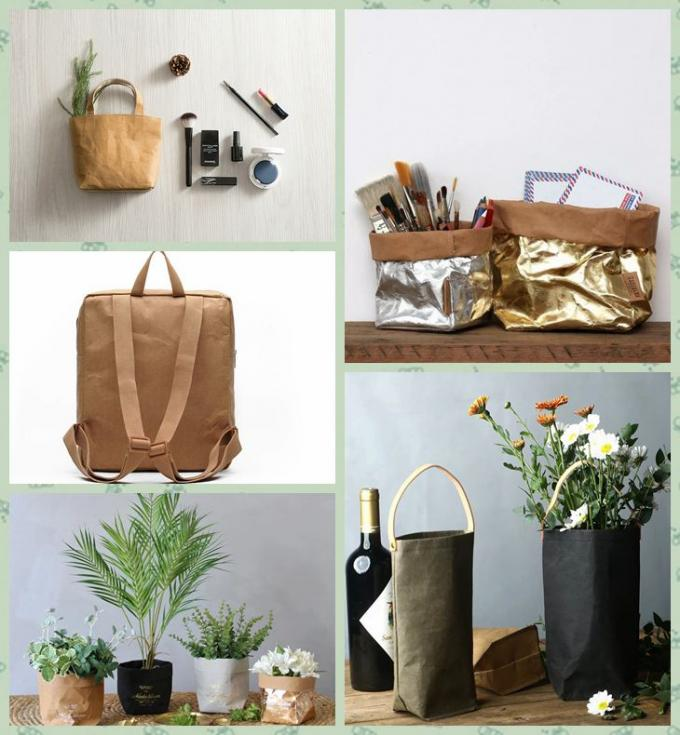 150cm*10m comfortable close to leather washable kraft paper in roll