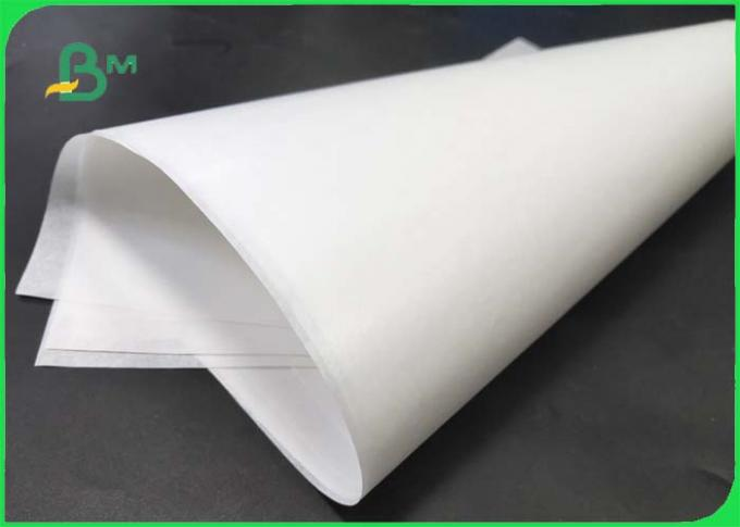 15g / 18g / 20g White PE Kraft Paper Coated One Side And Two Sides For Packing Food