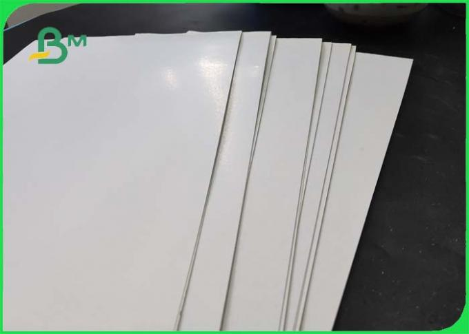 One Side Coated And Glossy Folding  Box Board 250 / 300 / 350g For Making Name Card