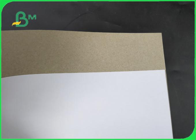 FSC 250 / 300 / 400gsm C1S Grey Back Glossy Side  With White 1mm 2mm 3mm
