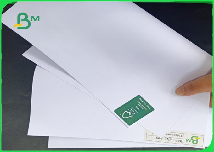 Good Surface Smoothness 60gsm - 200gsm Uncoated Woodfree Paper In Roll