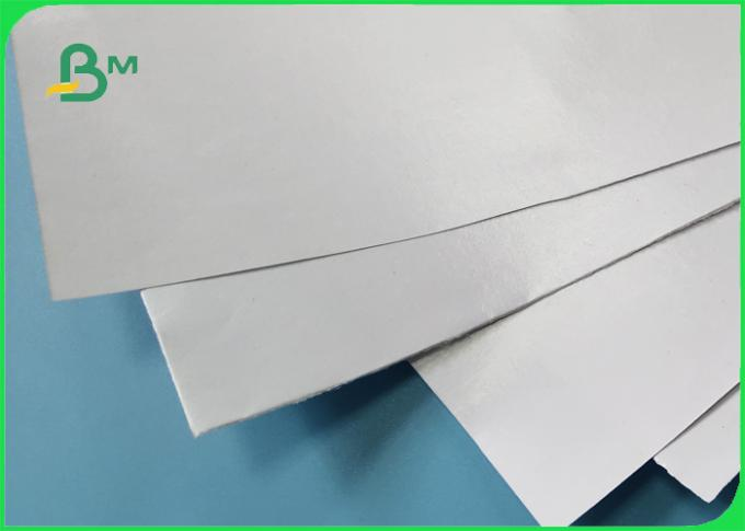 Food Grade PE Coated 50GSM Craft Paper White & Brown No Harm To People