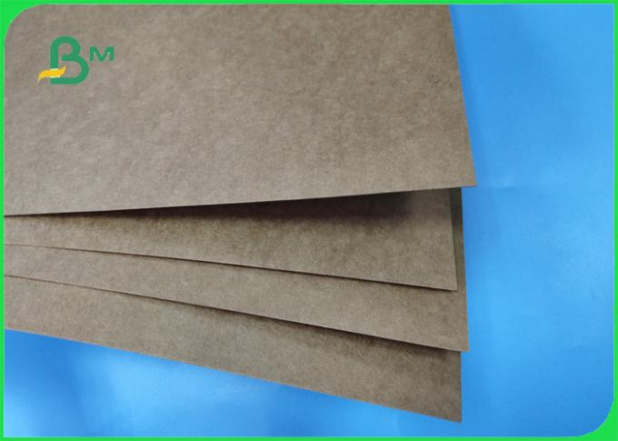 SGS & ISO 160GSM Great Rigidity Kraft Text Liner Brown For Packing In Rolls