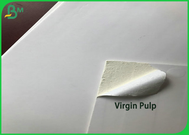 1.35mm 1.5mm High Thickness Coated White Cardboard Sheet 100% Virgin pulp