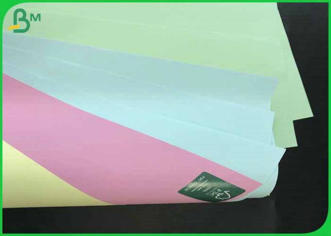 70*100cm 70gsm 80gsm Uncoated Woodfree Color Paper For Offset Printing