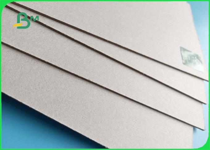 Wide 75*105CM recycle pulp 1200gsm / 2.0mm Grey Carton Gris for boxes