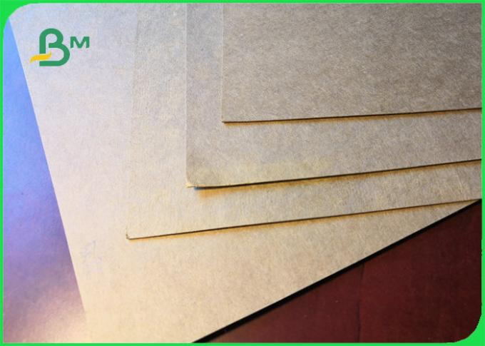 FSC Carta Kraft Paper For Fast Food Wrapping 300gsm 350gsm Good Strength
