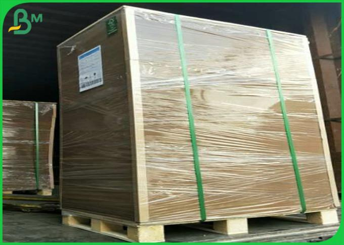 FSC Certificates 250gsm - 400gsm 70*100cm Brown Kraft Board For Making Boxes