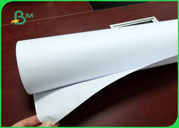 48 inch 70gsm Eco-friendly safe strength plotter paper for hp printer