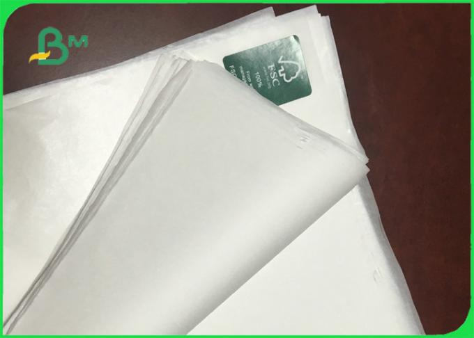 30gsm 35 gsm Food Grade Uncoated White Sack Kraft Paper FDA EU SGS Certified