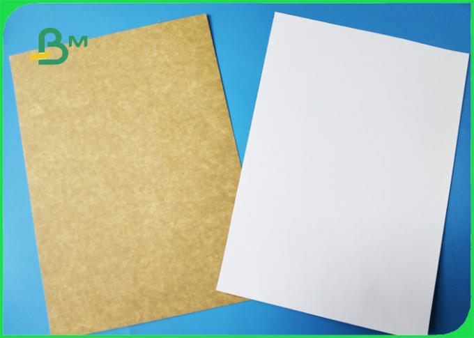 300g Coated One Side Text Liner Paper High Whiteness For Making Egg Tart Box
