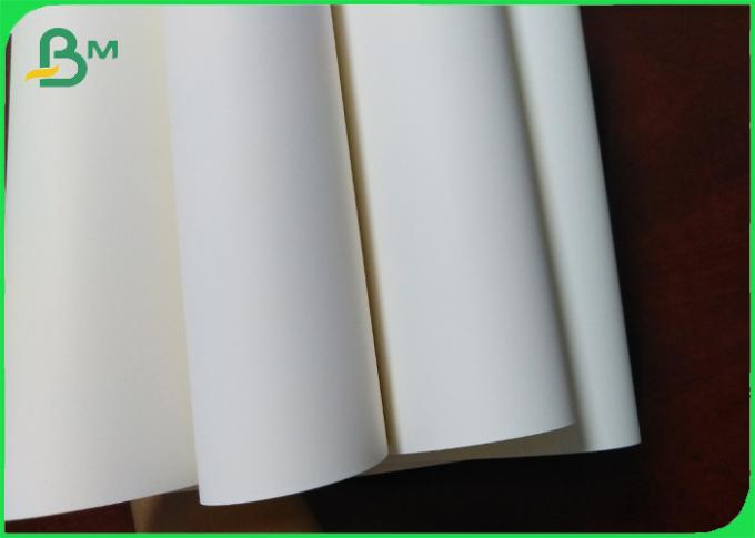 Waterproof Tree free 130um White Matt Synthetic Paper for Lables