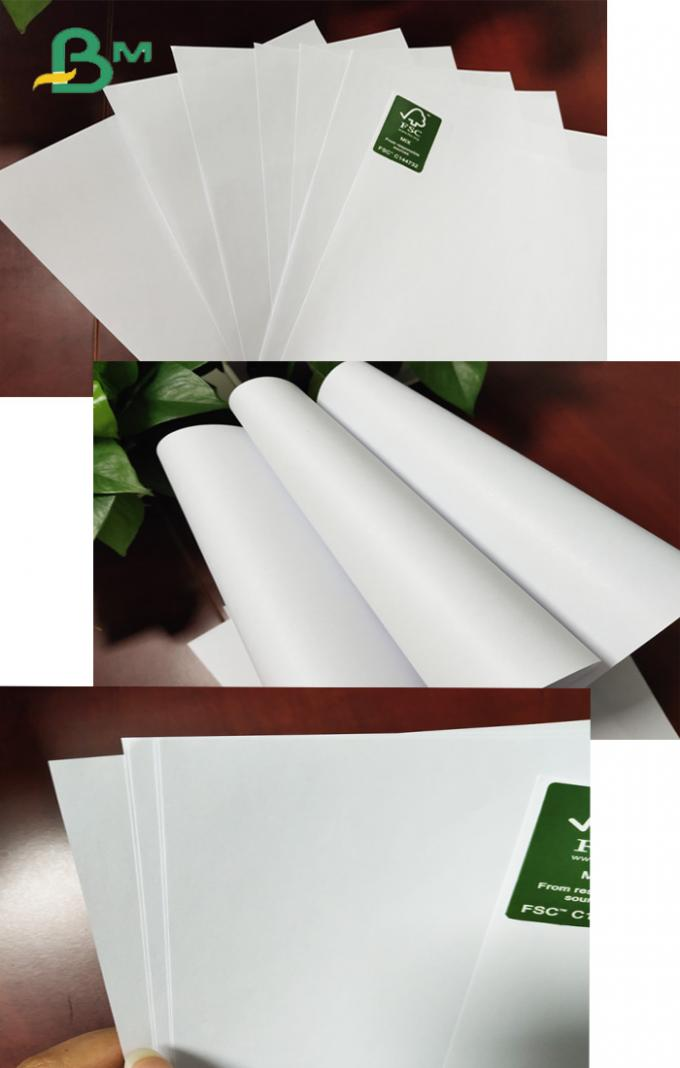 53gsm 60gsm Bond Paper 25 x 35.5 Inches Monochrome / Color printing Reams