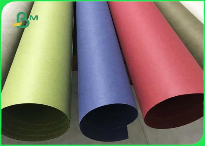 Wear - Resistant Natural Pulp Washable Kraft Paper Fabric For Carry Bags