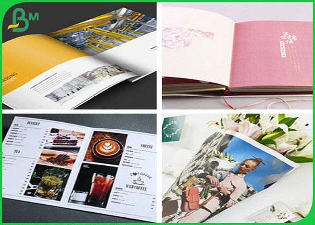 FSC 170g 180g Matte Coated Art Paper For Printing fashion magazine